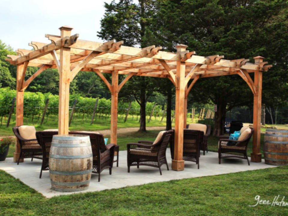 vineyards beautiful patio landscaped in the vineyard nickle creek vineyard foster rhode island united states ulocal local products local purchase local produce locavore tourist