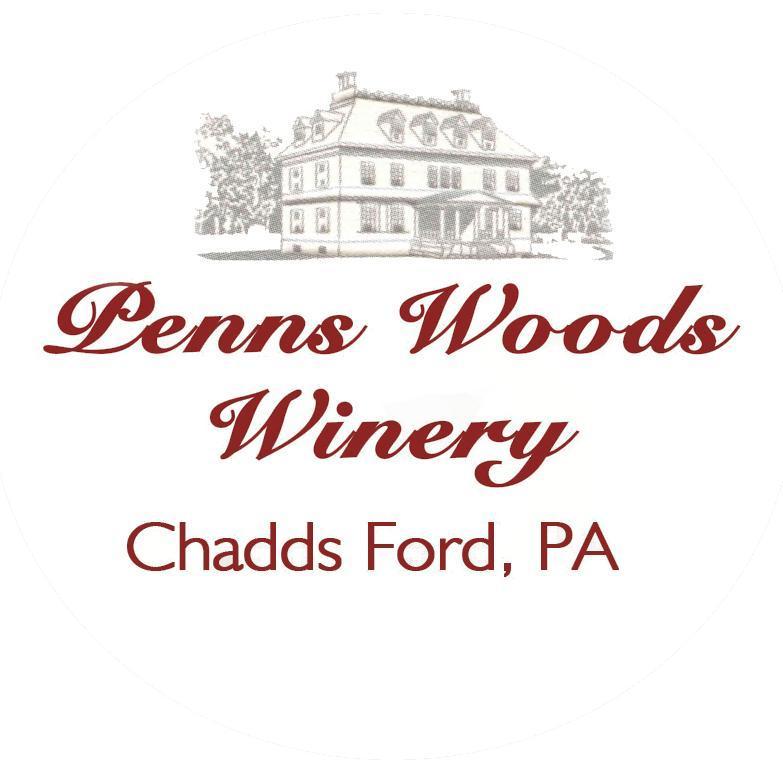 vignoble logo penns woods winery chadds ford pennsylvanie états unis ulocal produits locaux achat local produits du terroir locavore touriste