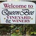 vineyards logo queen bee vineyard monson massachusetts united states ulocal local products local purchase local produce locavore tourist