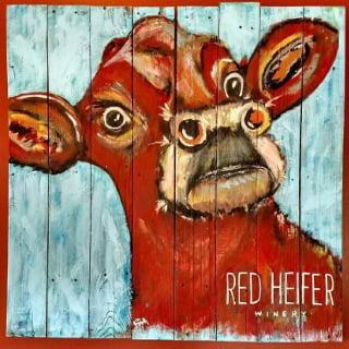 vignoble logo red heifer winery smithsburg maryland états unis ulocal produits locaux achat local produits du terroir locavore touriste