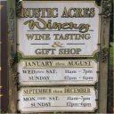 vignoble logo rustic acres winery butler pennsylvanie états unis ulocal produits locaux achat local produits du terroir locavore touriste