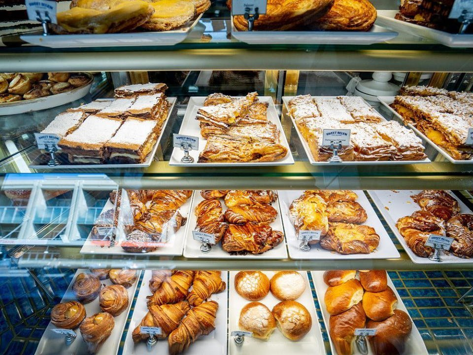 Pastry bakery food Sweet Belem Cake Shop Petersham Australia Ulocal local product local purchase