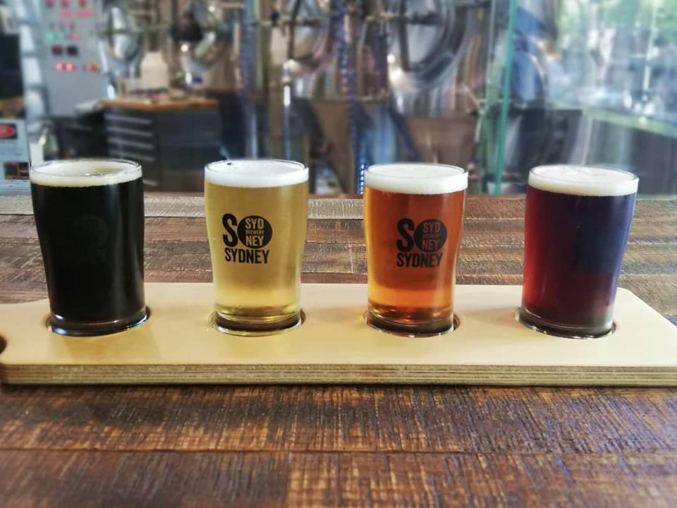 Microbrewery alcohol feed Sydney Brewery Surry Hills Australia ulocal local product local purchase