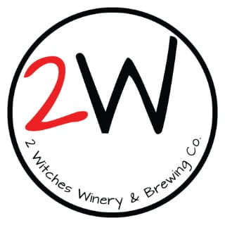 vineyards logo 2 witches winery and brewing co danville virginia united states ulocal local products local purchase local produce locavore tourist
