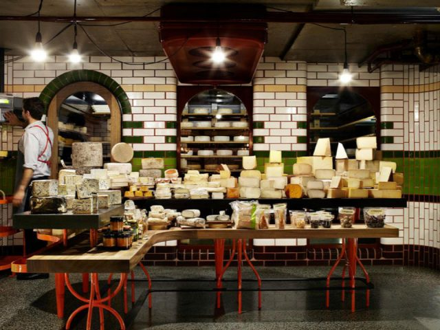 Fromagerie alimentation Spring Street Cheese Cellar Melbourne VIC Australie ulocal produit local achat local