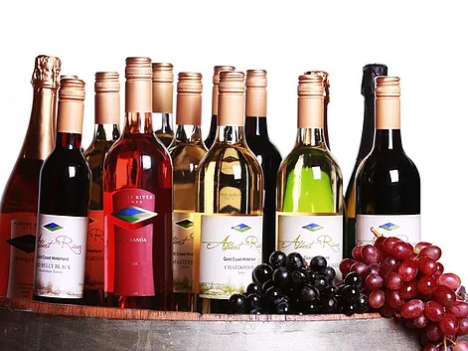 Vignoble alcool alimentation Albert River Wines Tamborine QLD Australie ulocal produit local achat local