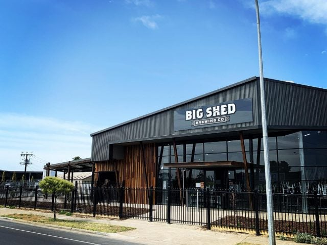 Microbrasserie alcool alimentation Big Shed Brewing Co Royal Park SA Australie ulocal produit local achat local