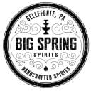 liquor logo big spring spirits bellefonte pennsylvania united states ulocal local products local purchase local produce locavore tourist