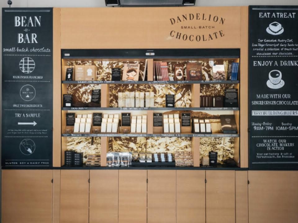 chocolaterie dandelion chocolate san francisco californie ulocal produit local achat local