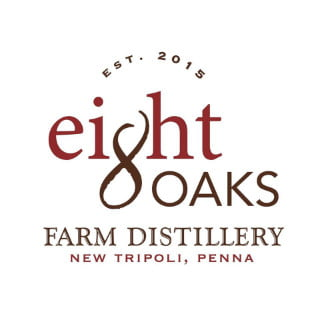 alcool logo eight oaks farm distillery new tripoli pennsylvanie états unis ulocal produits locaux achat local produits du terroir locavore touriste