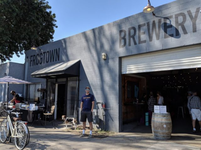 microbrasserie alcool frogtown brewery los angeles californie ulocal achat local produit local