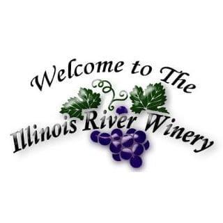 vignoble logo illinois river winery north utica illinois états unis ulocal produits locaux achat local produits du terroir locavore touriste