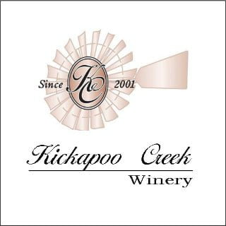 vineyards logo kickapoo creek winery edwards illinois united states ulocal local products local purchase local produce locavore tourist