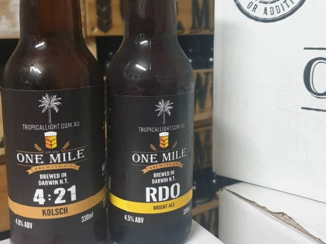 Food microbrewery One Mile Brewery Winnellie NT Australia Ulocal local product local purchase