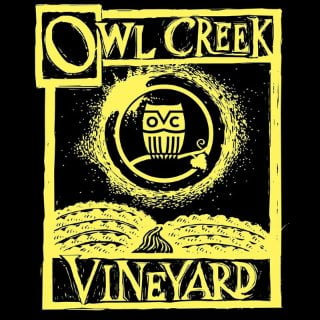 vineyards logo owl creek vineyard cobden illinois united states ulocal local products local purchase local produce locavore tourist