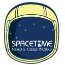 vineyards logo space time mead and cider works dunmore pennsylvania united states ulocal local products local purchase local produce locavore tourist