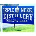 liquor logo triple nickel distillery weedville pennsylvania united states ulocal local products local purchase local produce locavore tourist