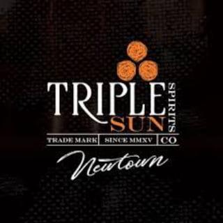 alcool logo triple sun spirits co newtown pennsylvanie états unis ulocal produits locaux achat local produits du terroir locavore touriste