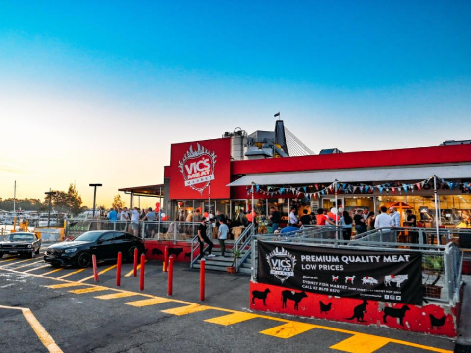 Boucherie alimentation Vic's Meat Market Pyrmont Australie Ulocal produit local achat local