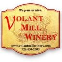 vineyards logo volant mill winery volant pennsylvania united states ulocal local products local purchase local produce locavore tourist
