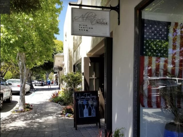 liquor vineyards albatross tasting room carmel by the sea california ulocal local product local purchase