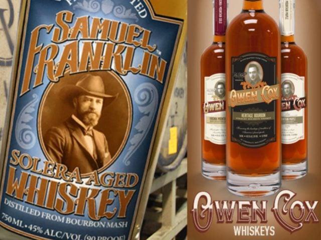 alcool bouteilles de whiskey davis valley distillery rural virginie états unis ulocal produits locaux achat local produits du terroir locavore touriste