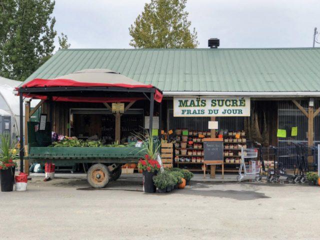 alimentation fermiers de famille marche fruits et legumes ferme lortie laval quebec ulocal produit local achat local
