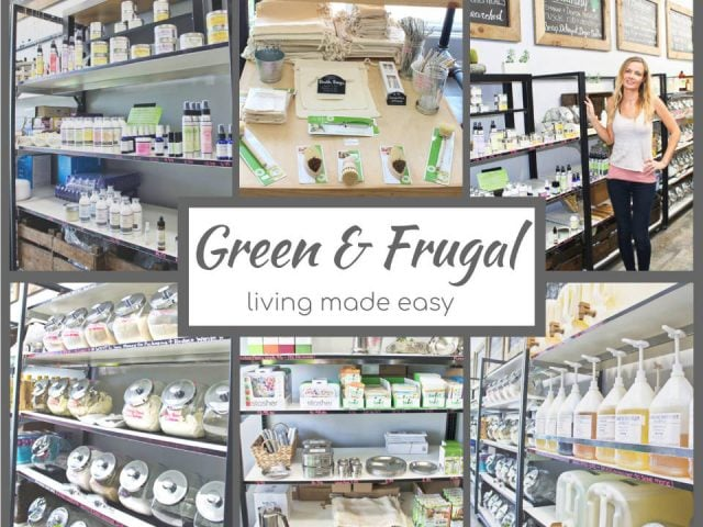 Cosmetics shop zero ecological waste Green & Frugal Scarborough Ontario Ulocal local product local purchase