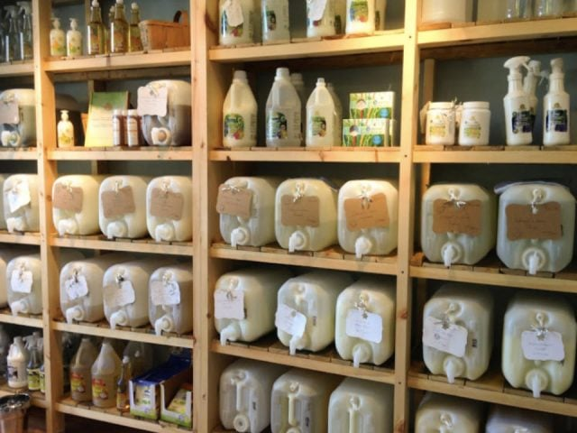 ecological boutique food household products cosmetics la brise verte Laval Québec ulocal local product local purchase