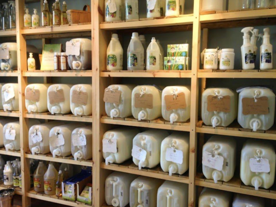 boutique ecologique aliment produits menagers cosmetiques la brise verte Laval Québec ulocal produit local achat local