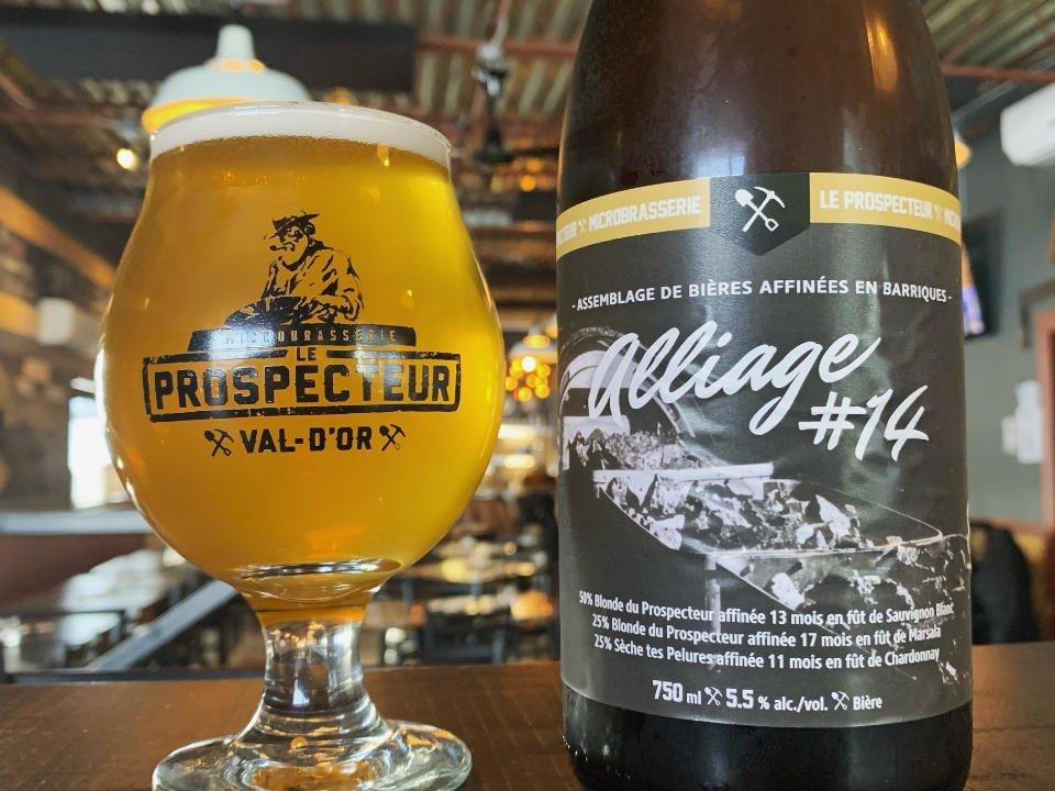 Microbrasserie bières artisanales Microbrasserie Le Prospecteur Val-d'Or Québec ulocal produit local achat local