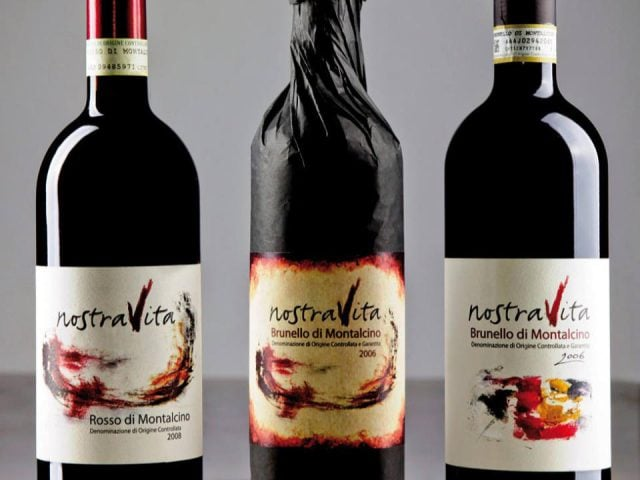 Vineyard alcohol food NostraVita di Annibale Parisi Montalcino SI Siena Italy Ulocal local product local purchase