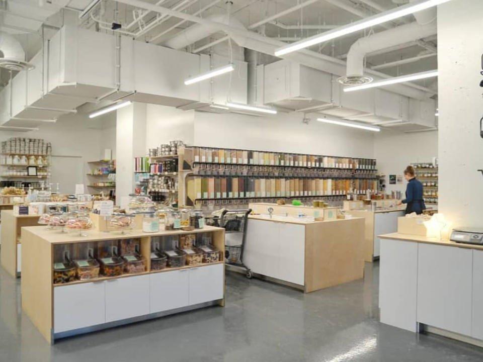 Épicerie spécialisée zéro déchet écologique NU Grocery Ottawa Ontario Ulocal produit local achat local