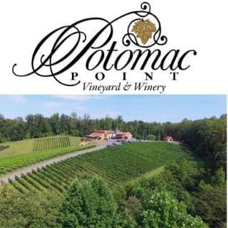 vignoble logo potomac point vineyard and winery stafford courthouse virginie états unis ulocal produits locaux achat local produits du terroir locavore touriste