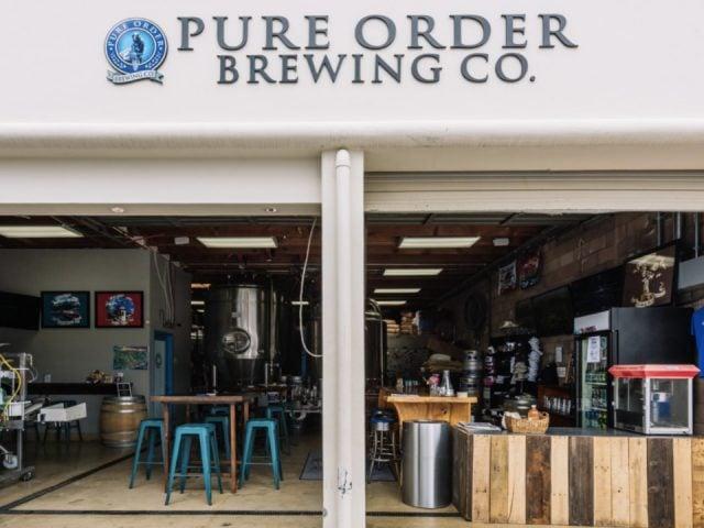 liquor microbreweries pure order brewing company santa barbara california ulocal local product local purchase