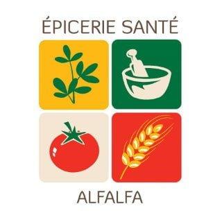 specialty grocery store logo alfalfa epicerie sante montreal quebec canada ulocal local products local purchase local produce locavore tourist