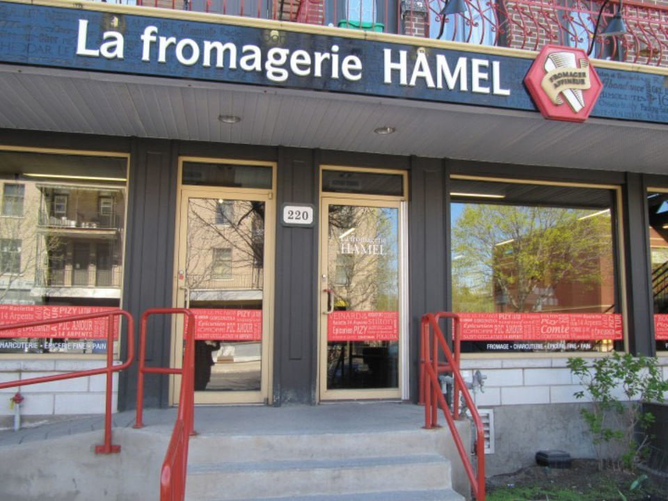 cheese factories shop facade la fromagerie hamel montréal quebec canada ulocal local products local purchase local produce locavore tourist