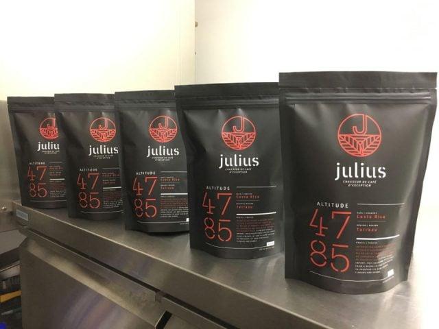 Cafe torrefication boutique alimentation Julius cafe Bromont Québec Ulocal produit local achat local