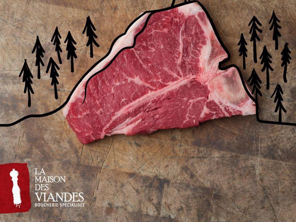Butcher shop meat sale Maison Des Viandes Rouyn-Noranda Quebec Ulocal local product local purchase