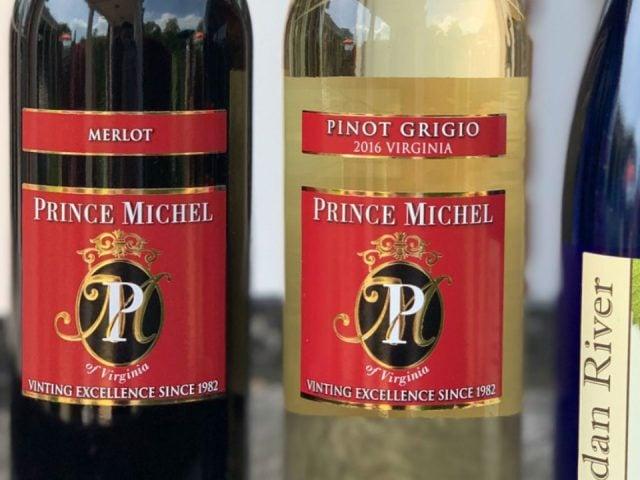 vignoble bouteilles de vin prince michel winery leon virginia united states ulocal produits locaux achat local produits du terroir locavore touriste