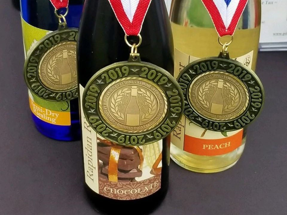vineyards award-winning bottles of wine prince michel winery leon virginia united states ulocal local products local purchase local produce locavore tourist
