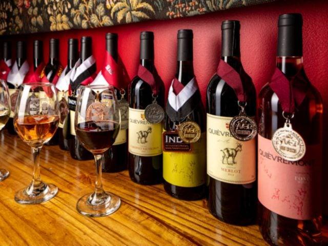 vignoble bouteilles de vin primées quièvremont vineyard and winery washington virginia états unis ulocal produits locaux achat local produits du terroir locavore touriste