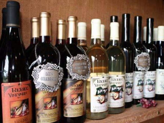 vineyards award-winning bottles of wine rebec vineyards amherst virginia united states ulocal local products local purchase local produce locavore tourist