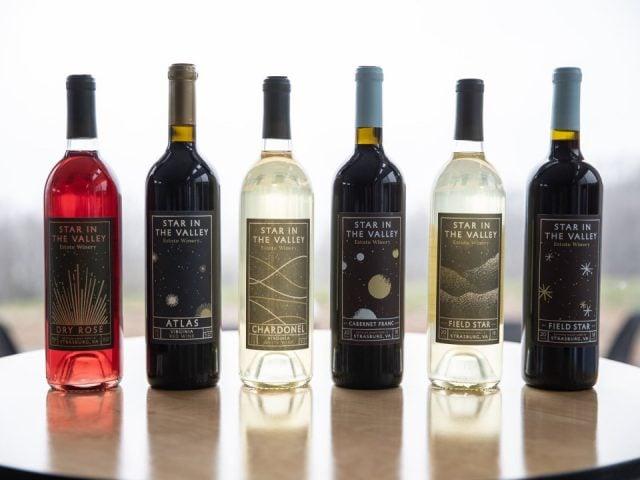 vignoble bouteilles de vin star in the valley estate winery strasburg virginie états unis ulocal produits locaux achat local produits du terroir locavore touriste