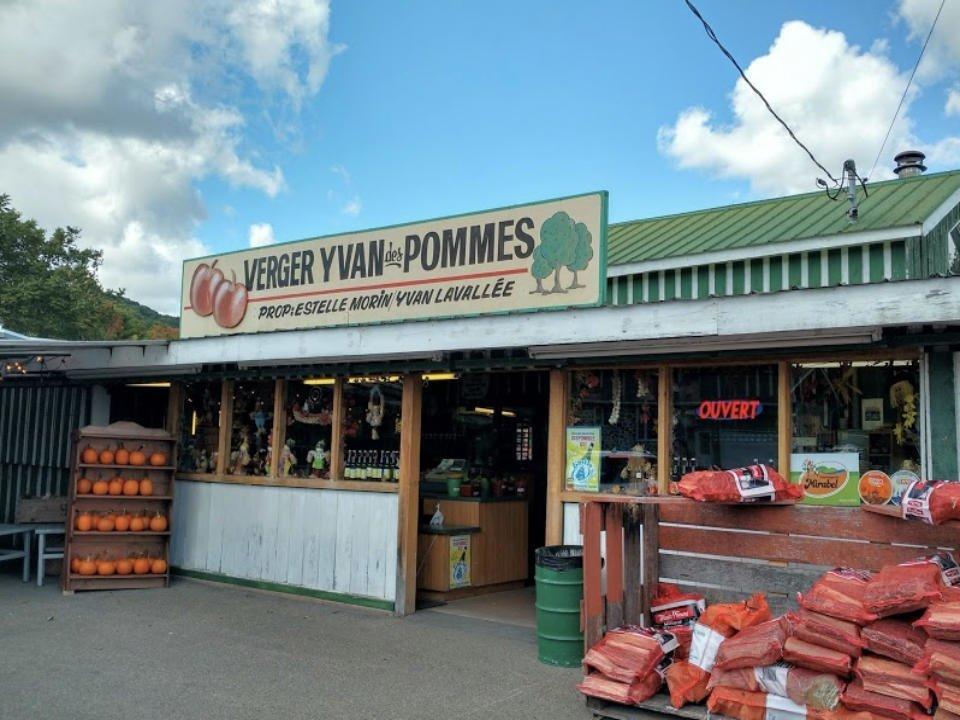 alimentation autocueillette fermiers de famille verger yvan des pommes saint joseph du lac quebec ulocal produit local achat local