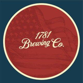 microbrasserie logo 1781 brewing company spotsylvania courthouse virginie états unis ulocal produits locaux achat local produits du terroir locavore touriste
