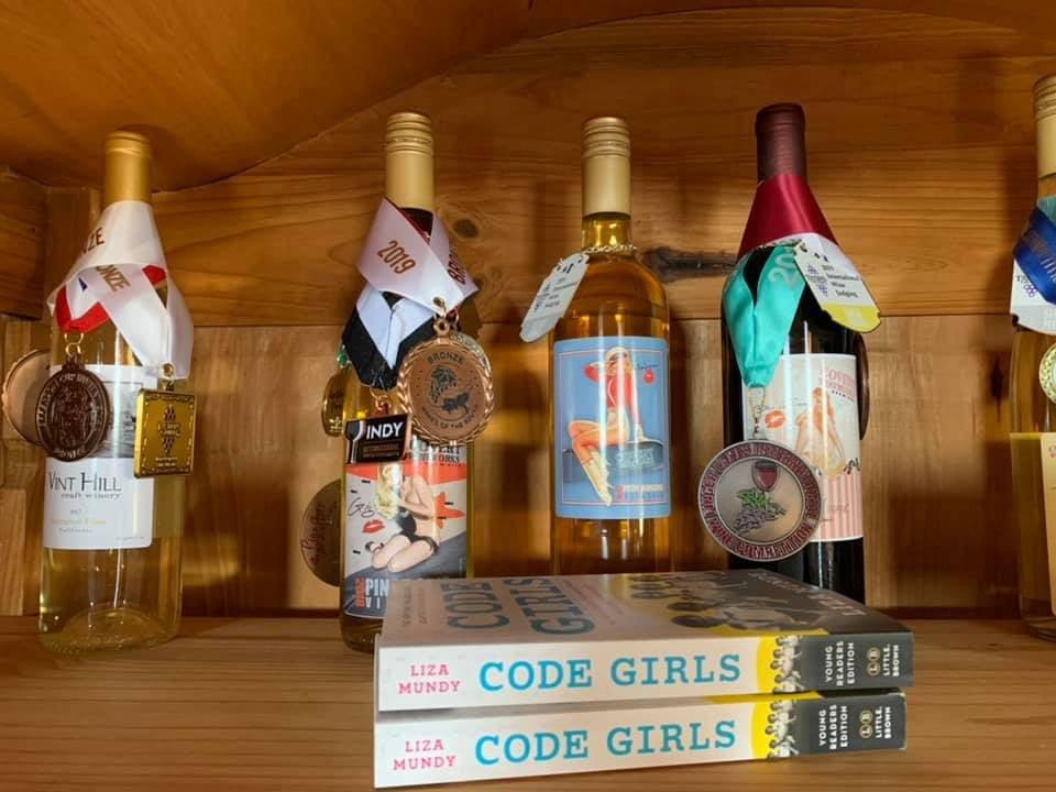 vignoble bouteilles de vin primées Vint hill craft winery warrenton virginie états unis ulocal produits locaux achat local produits du terroir locavore touriste