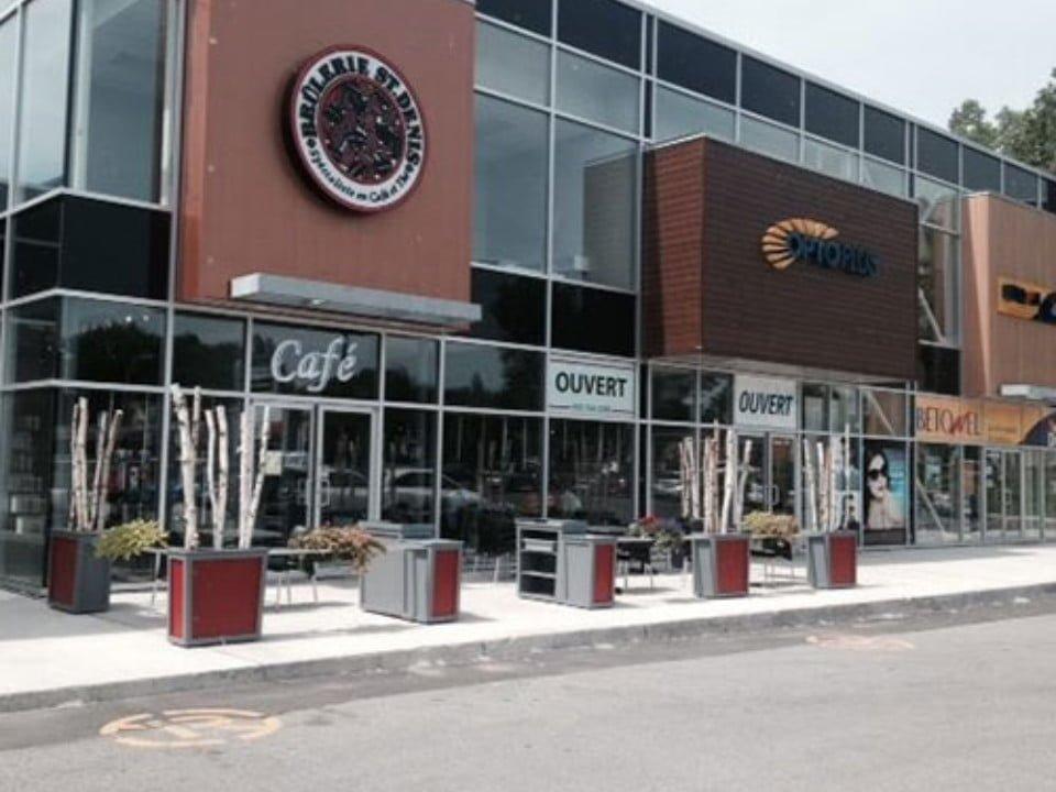 cafés façade brulerie st-denis repentigny montréal quebec canada ulocal produits locaux achat local produits du terroir locavore touriste
