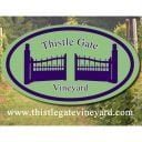 vineyards logo thistle gate vineyard scottsville virginia united states ulocal local products local purchase local produce locavore tourist