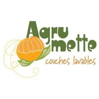 Logo Baby washable nappies Agrumette Saint-Jean-Port-Joli Quebec Ulocal local product local purchase